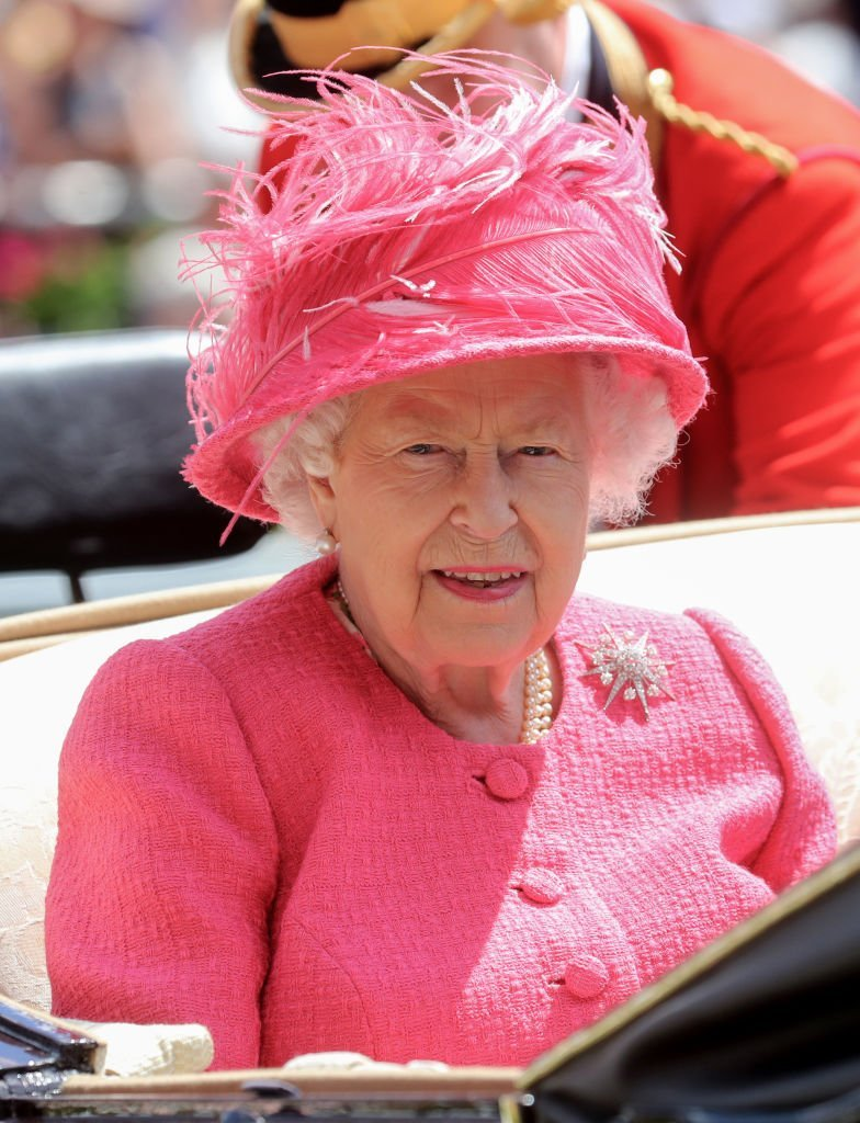 Queen Elizabeth II arrives on day four of Royal Ascot at Ascot Racecourse | Photo: Getty Images