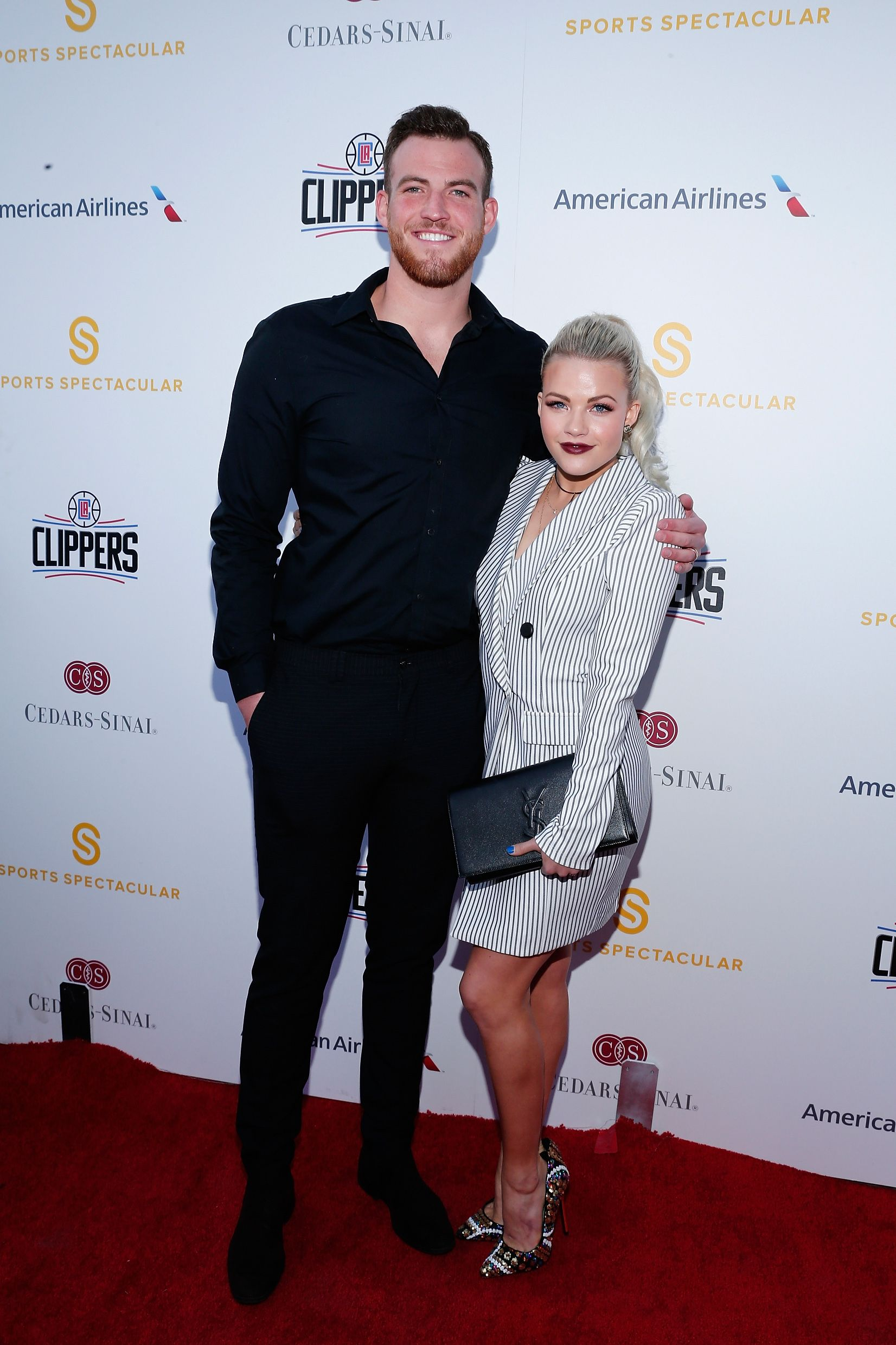 Carson McAllister and Witney Carson at the Cedars-Sinai Sports Spectacular in West Beverly Hills on March 25, 2016 | Getty Images