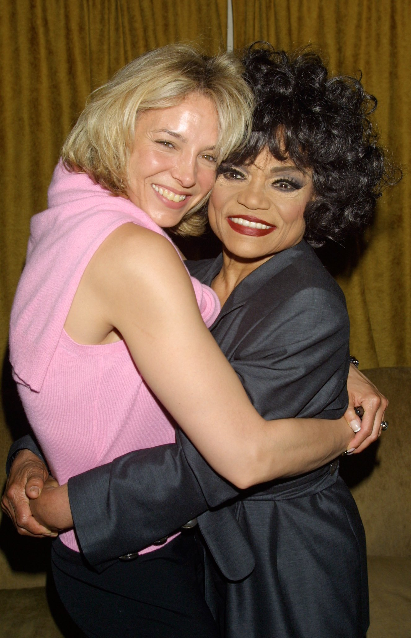 Eartha Kitt and her daughter Kitt Shapiro at the Celebration of Rodgers & Hammerstein's Cinderella at Club 151 in New York City, on May 4, 2001   Photo: Getty Images
