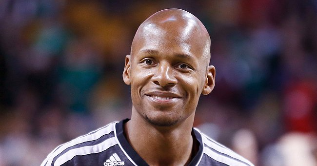 Ray Allen Shared a Touching Family Photo on Veterans Day Posing with His 4 Sons & Dad