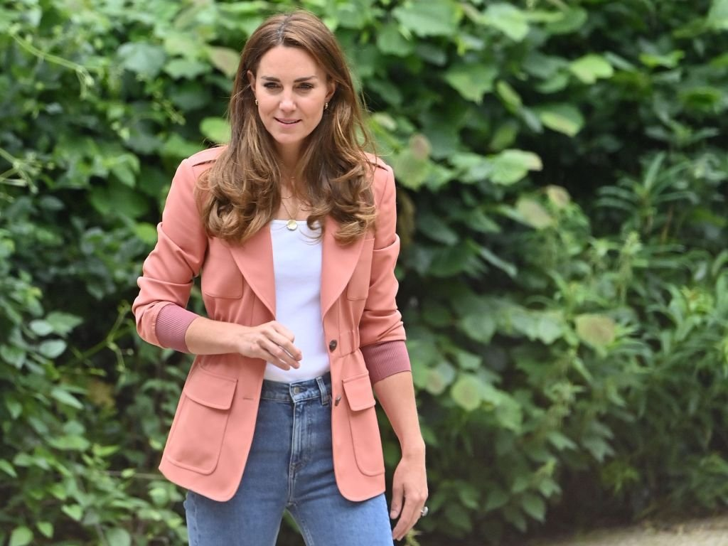 Catherine, Duchess of Cambridge, leaving the Natural History Museum London on June 22, 2021, | Source: Getty Images
