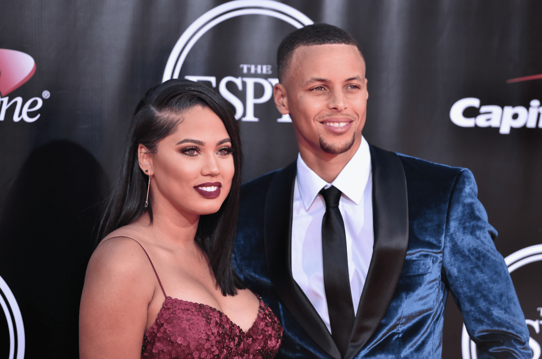 Stephen Curry and Ayesha Curry at the 2016 ESPYS at Microsoft Theater on July 13, 2016. | Source: Getty Images