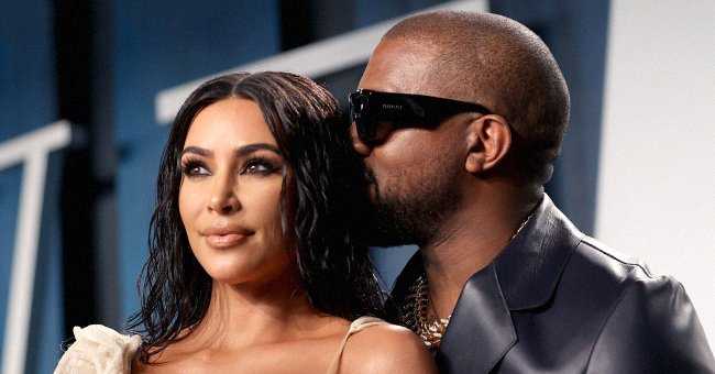 Kim Kardashian West and Kanye West attend the 2020 Vanity Fair Oscar Party, February 2020   Source: Getty Images