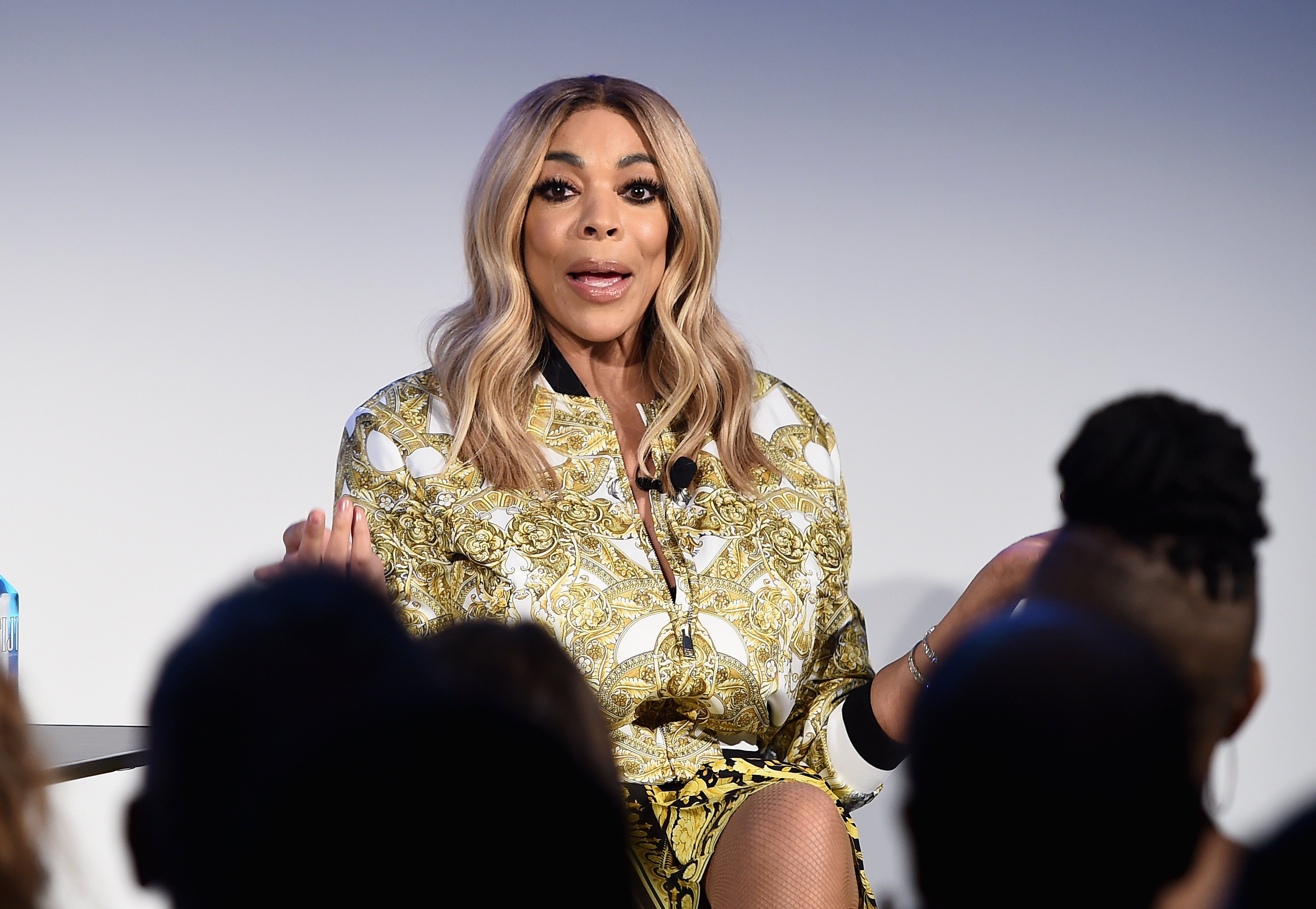 """Wendy Williams speaking at the """"Vulture Festival"""" hosted by AT&T in May 2018. 
