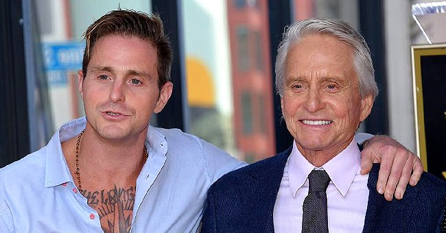 Michael Douglas of 'The Kominsky Method' Fame Shares Birthday Wishes to Oldest Son Cameron as He Turns 41