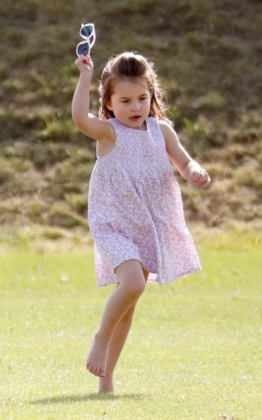 La princesse Charlotte au Beaufort Polo Club le 10 juin 2018 à Gloucester, Angleterre | Photo : Getty Images