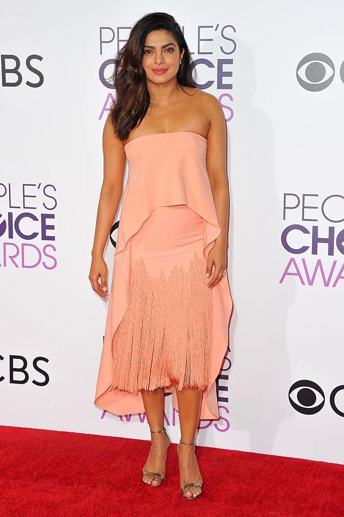 Priyanka Chopra en janvier 2017 à Los Angeles. Photo : Getty Images
