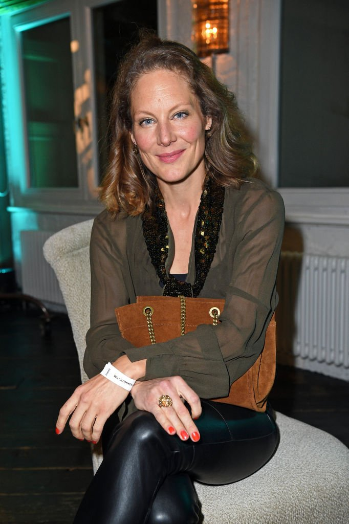Tessa Mittelstaedt at Soho House on February 24, 2020 in Berlin, Germany. | Quelle: Getty Images
