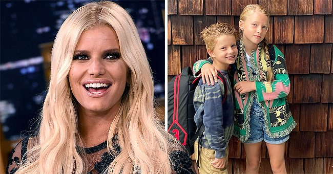 Jessica Simpson Shares New Photo of Her Kids and They Are Already So Big
