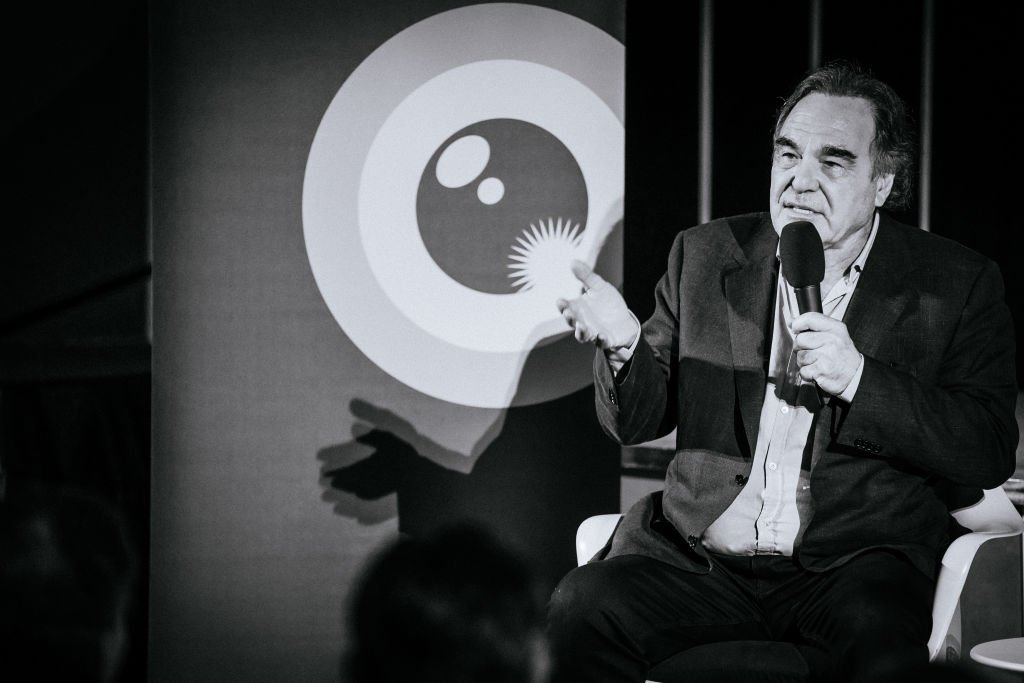 Film director Oliver Stone at the 15th Zurich Film Festival in October 2019. | Photo: Getty Images