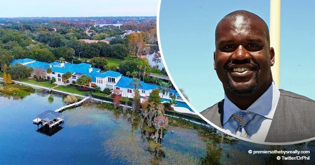 Shaquille O'Neal is selling his $22M mansion complete with 17-car-garage and huge basketball court