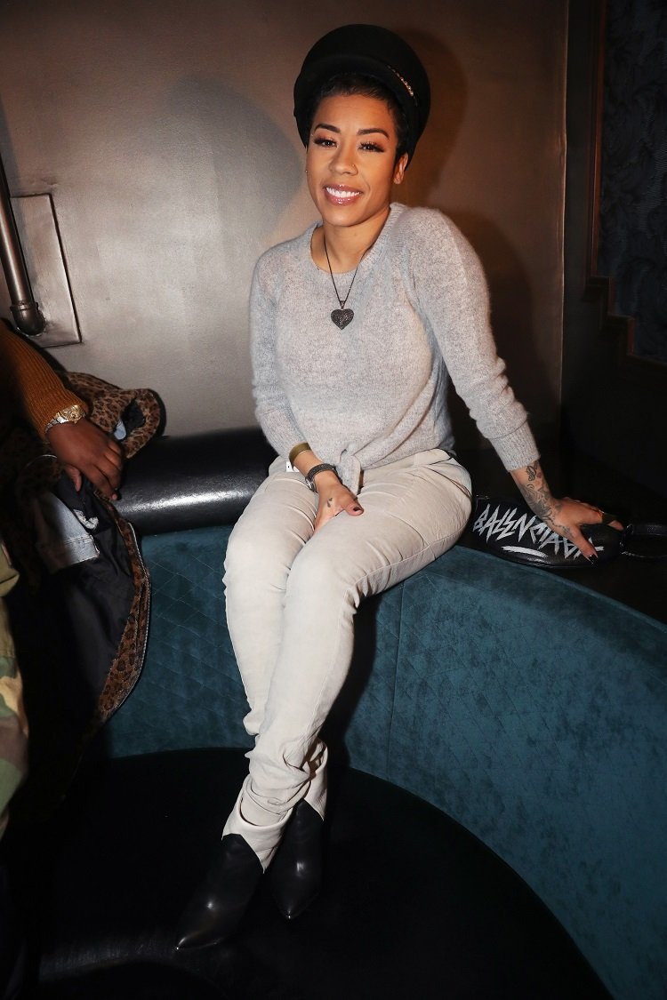 Keyshia Cole on January 24, 2020 in Los Angeles, California | Photo: Getty Images