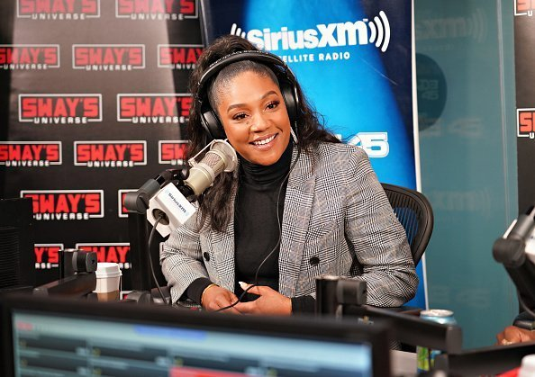 Tiffany Haddish visits 'Sway in the Morning' with Sway Calloway on Eminem's Shade 45 at SiriusXM Studios in New York City. | Photo: Getty Images