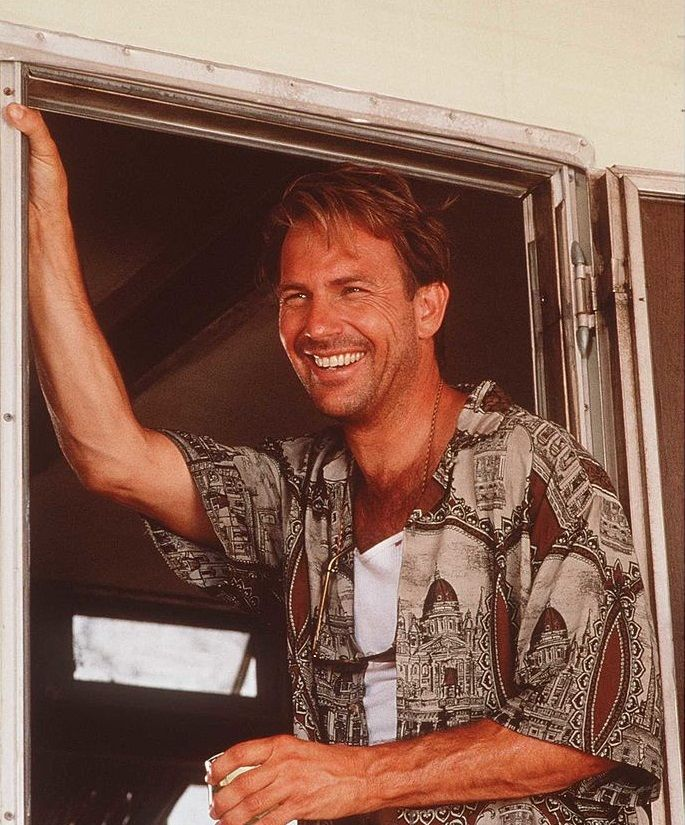 "Kevin Costner in der Komödie ""Tin Cup"" von 1996 