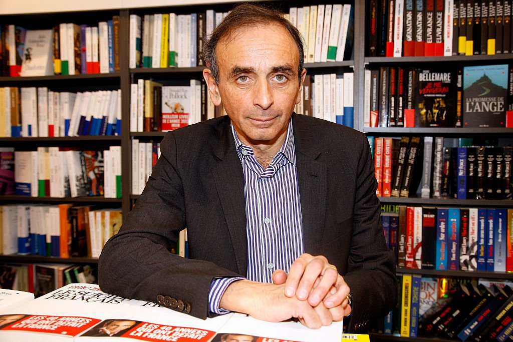 Le journaliste et écrivain Eric Zemmour. | Photo : Getty Images
