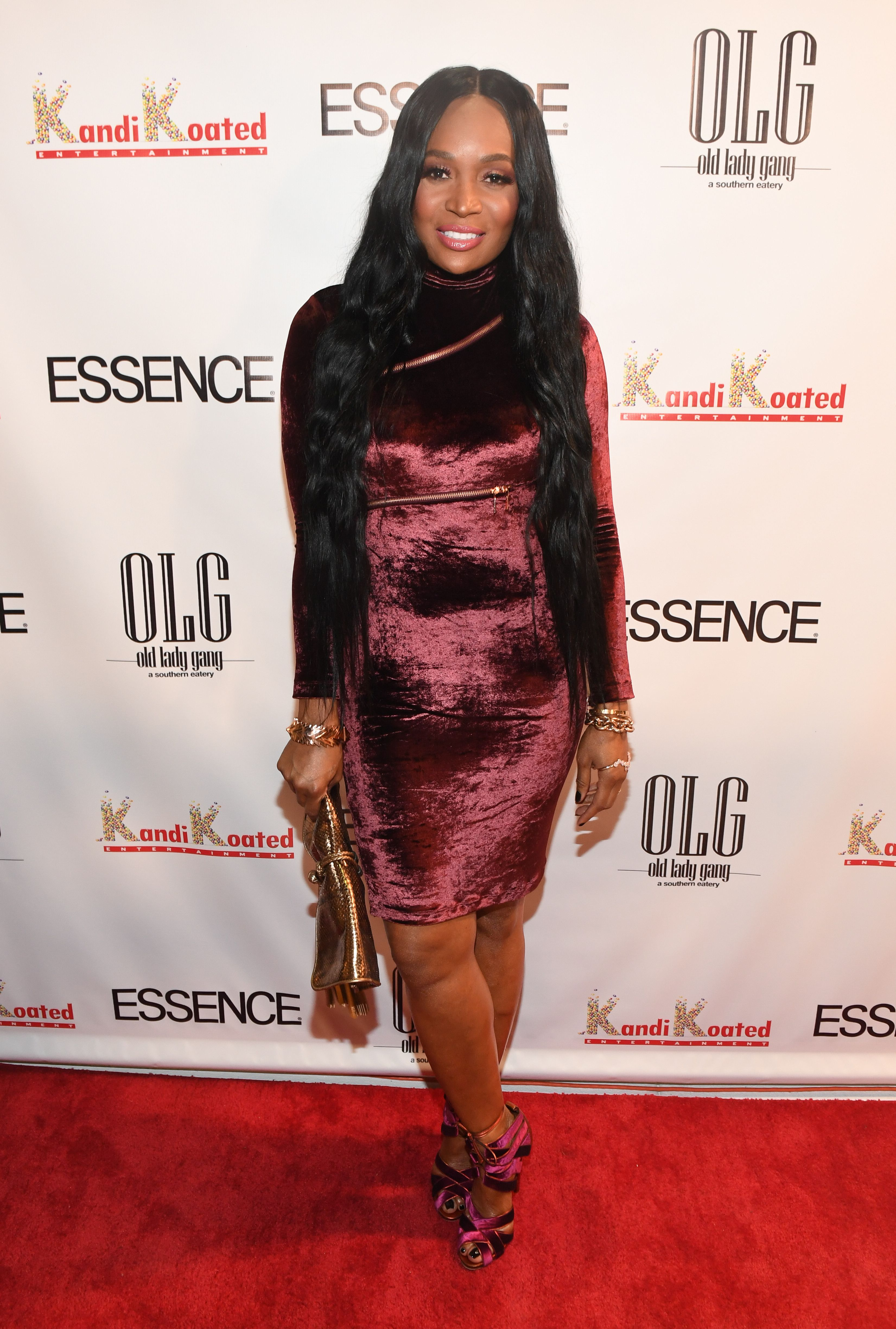 Marlo Hampton attends Essence Magazine's celebration of its October cover featuring Kandi Burruss in Atlanta, Georgia on September 22, 2017 | Photo: Getty Images