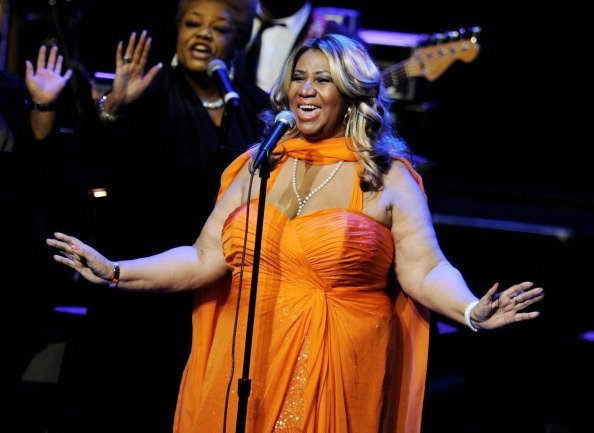 Singer Aretha Franklin performs at the Nokia Theatre L.A. Live in Los Angeles, California. | Photo: Getty Images