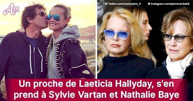 """Elles ne manquent pas d'air"": un ami de Laeticia attaque Sylvie Vartan et Nathalie Baye"