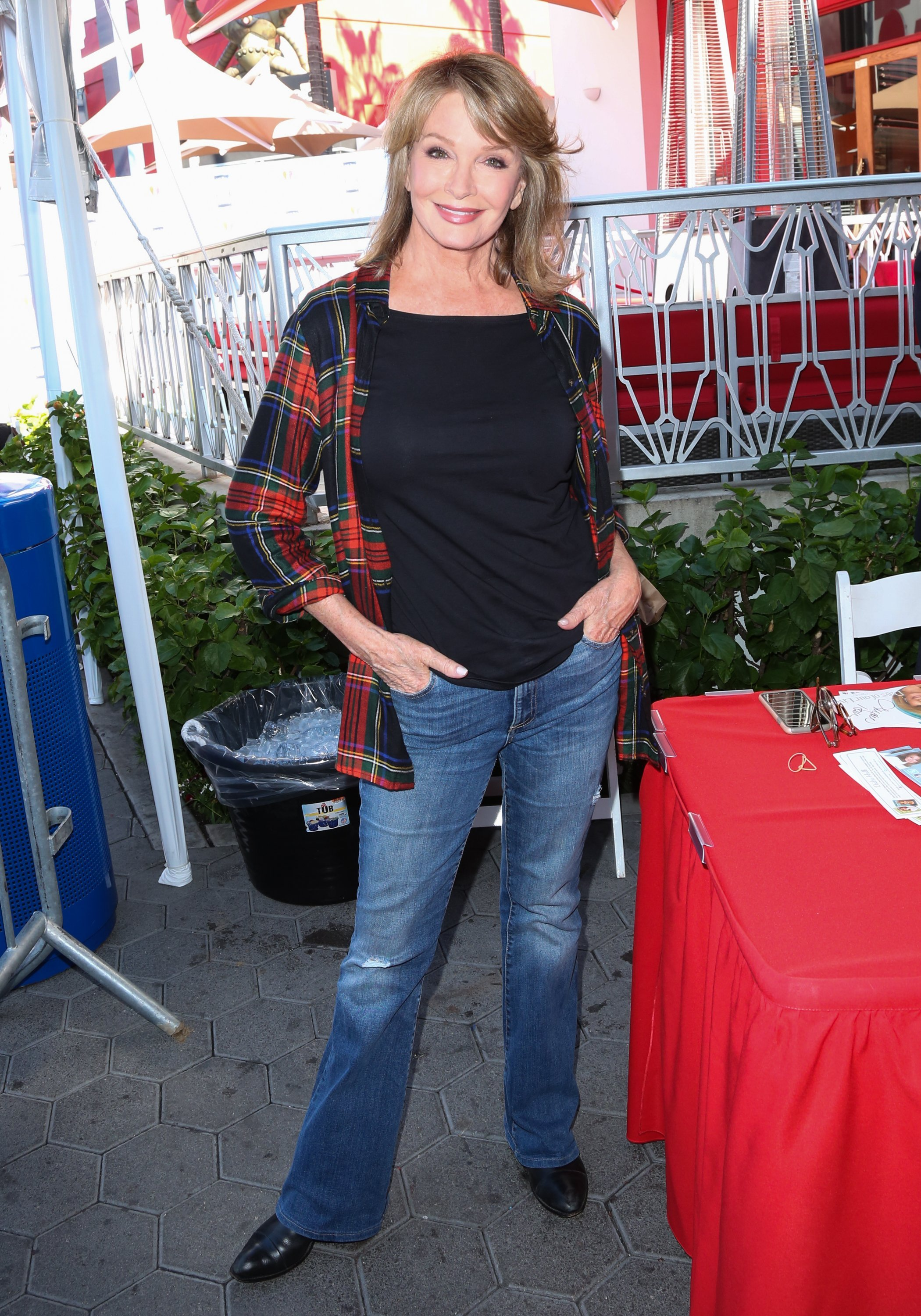 """Deidre Hall attends the """"Day Of Days"""" fan event at Universal CityWalk on November 11, 2017 
