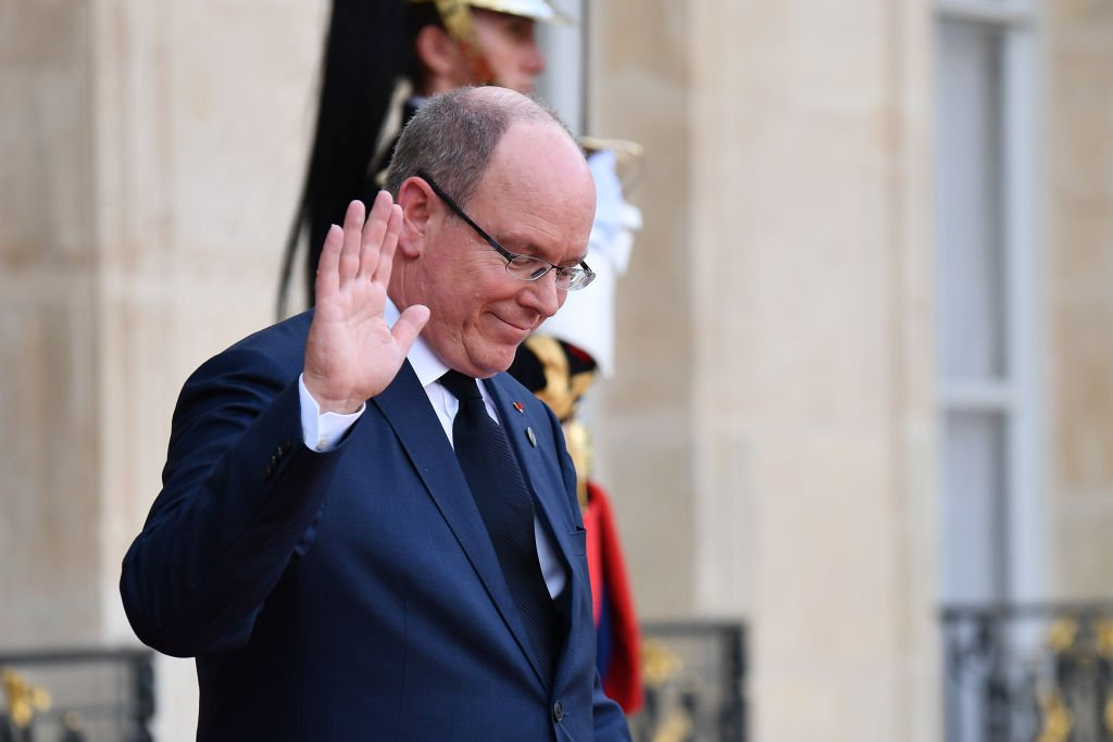 Albert II Prince of Monaco at the Elysee Palace, in Paris, France on September 30, 2019 | Photo: Getty Images