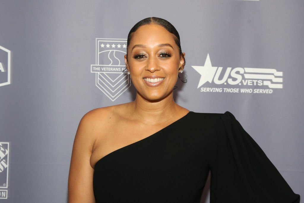 Actress Tia Mowry attends the 2019 US Vets Salute Gala at The Beverly Hilton Hotel on November 05, 2019.   Photo: Getty Images