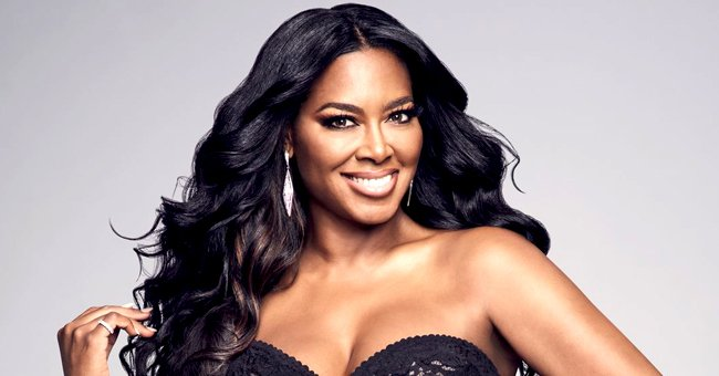 Kenya Moore Looks Unforgettable Wearing Black Catsuit with a Deep Neckline after Losing Weight