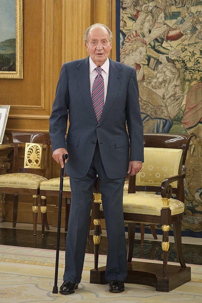 Juan Carlos de España en el palacio de la Zarzuela.| Imagen: Getty Images/ GlobalImagesUkraine