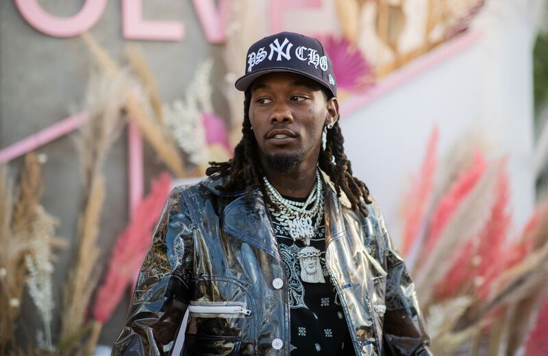 Kiari Cephus known as Offset from Migos at a public appearance   Source: Getty Images/GlobalImagesUkraine