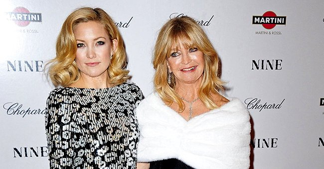 Goldie Hawn & Kate Hudson Pose with Baby Rani Rose for New Magazine Cover