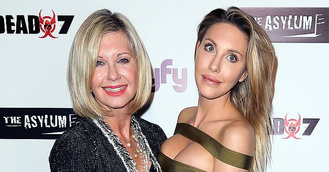 Olivia Newton-John, 72, Proves Age Is Just a Number in a Throwback Photo with Her Daughter