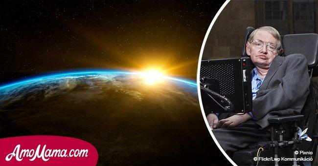 Stephen Hawking hinterließ eine Warnung vor seinem Tod: Wir müssen die Erde verlassen
