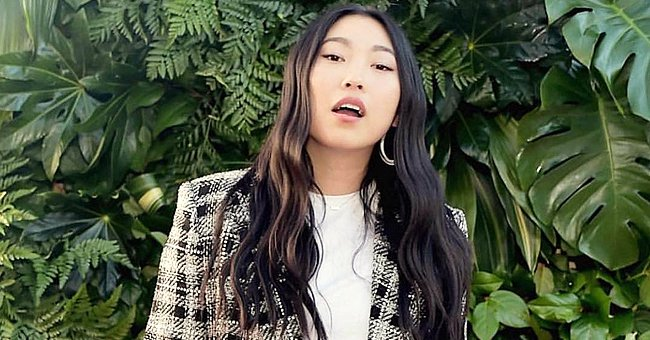 Awkwafina Stuns Fans with Empowering White Suit for Premiere of Marvel's 'Shang-Chi and the Legend of the Ten Rings'