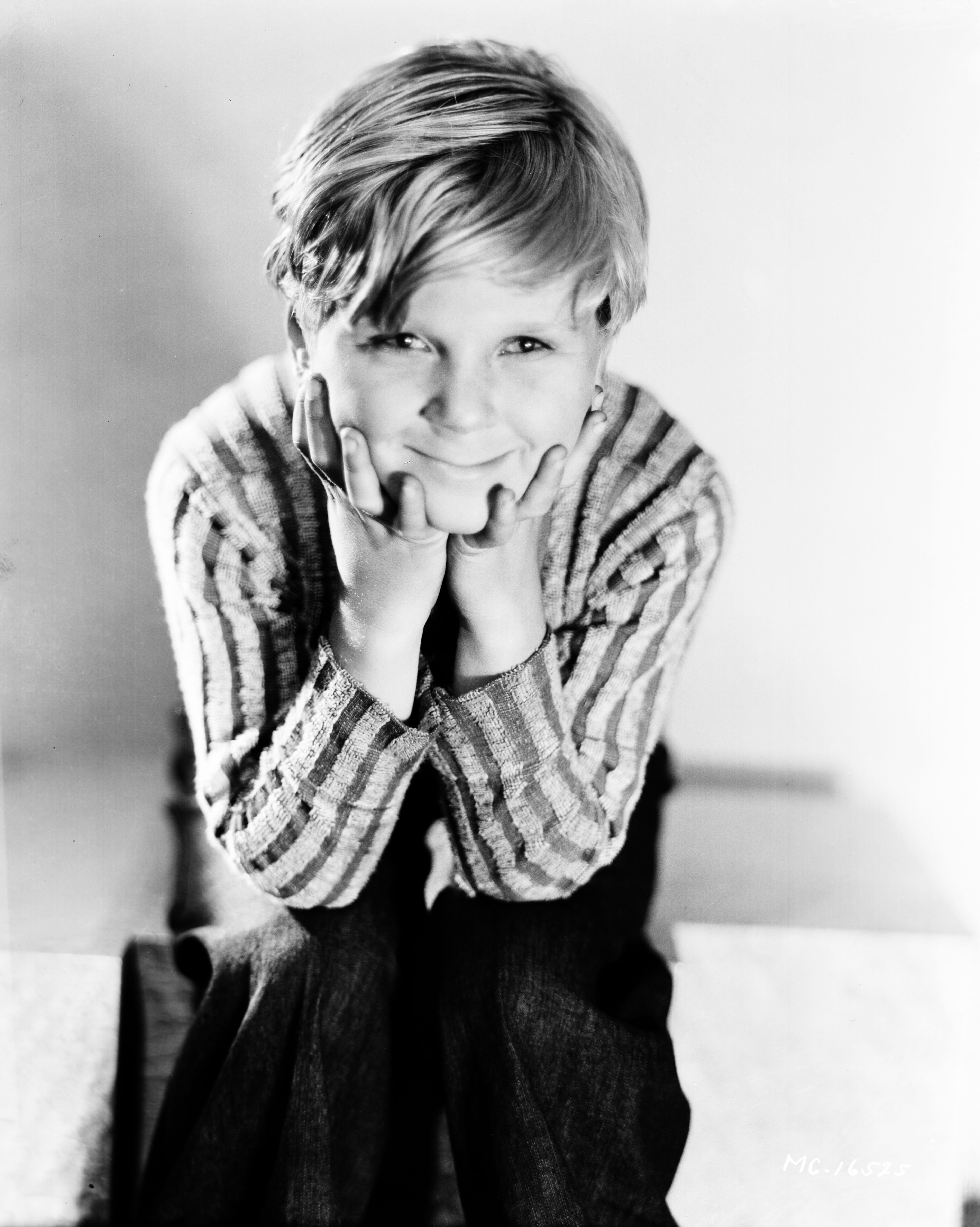 Cooper as a young boy in the late 1920s. | Photo: Getty Images