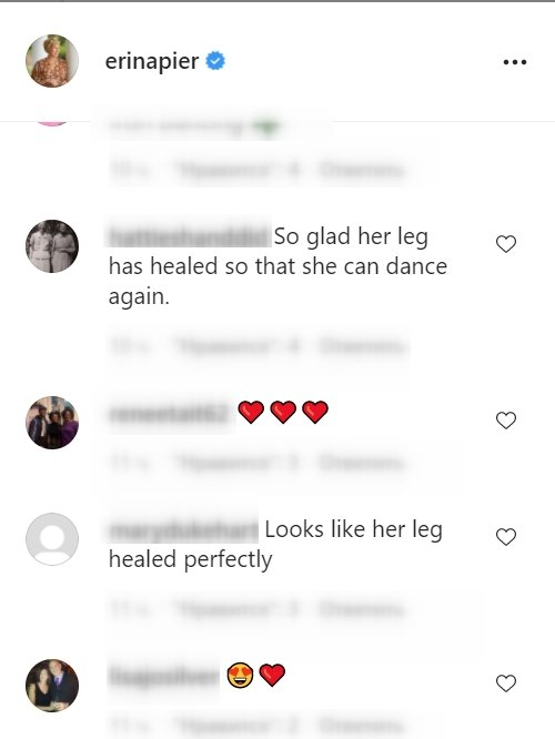 Fans comment under a video posted by Erin Napier on Instagram   Photo: Instagram/erinapier