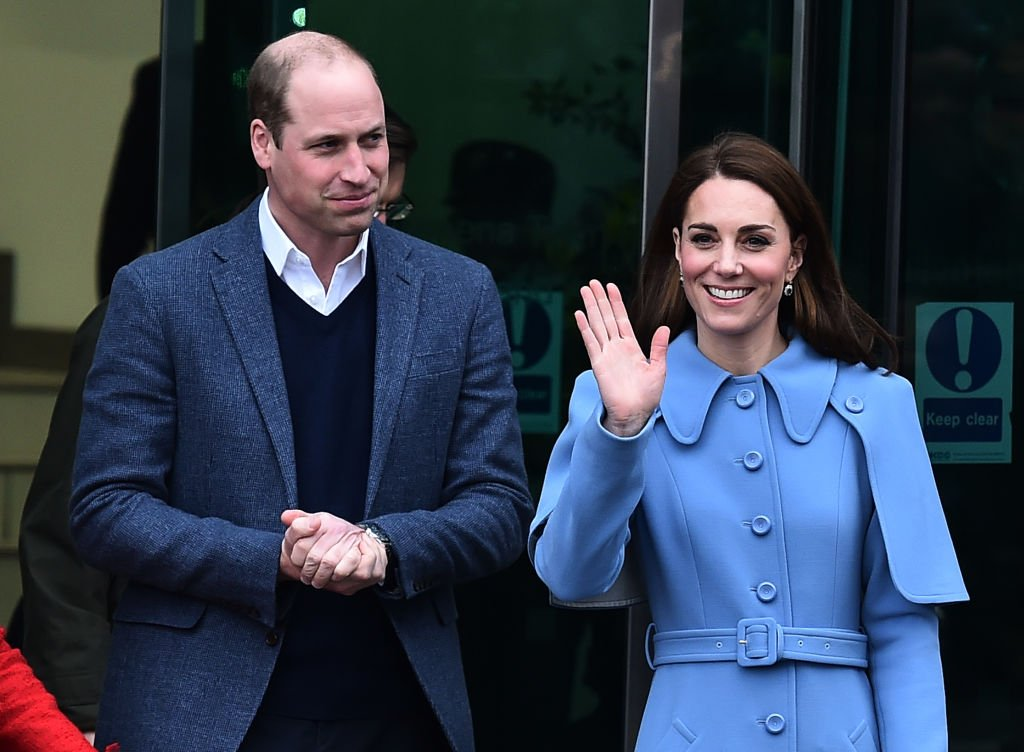 Prince William, Duke of Cambridge and Catherine, Duchess of Cambridge engage in a walkabout in Ballymena town centre on February 28, 2019 | Photo: Getty Images