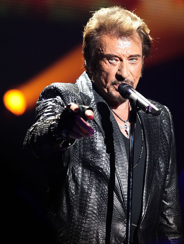 Johny Hallyday sur scène. | Sources : Getty Images