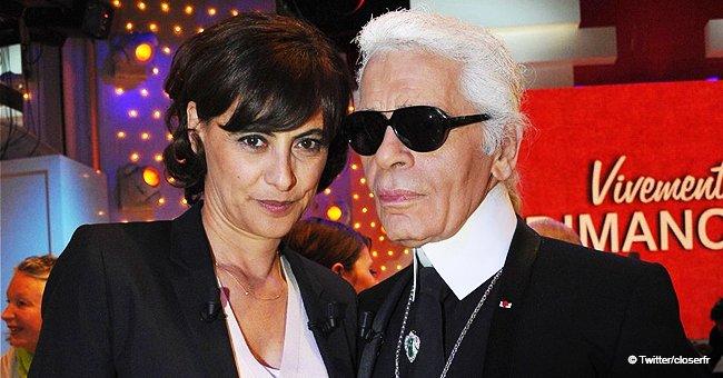 """Il m'a pris la main et ne l'a plus lâchée"": La femme proche de Karl Lagerfeld raconte leur dernier moment"