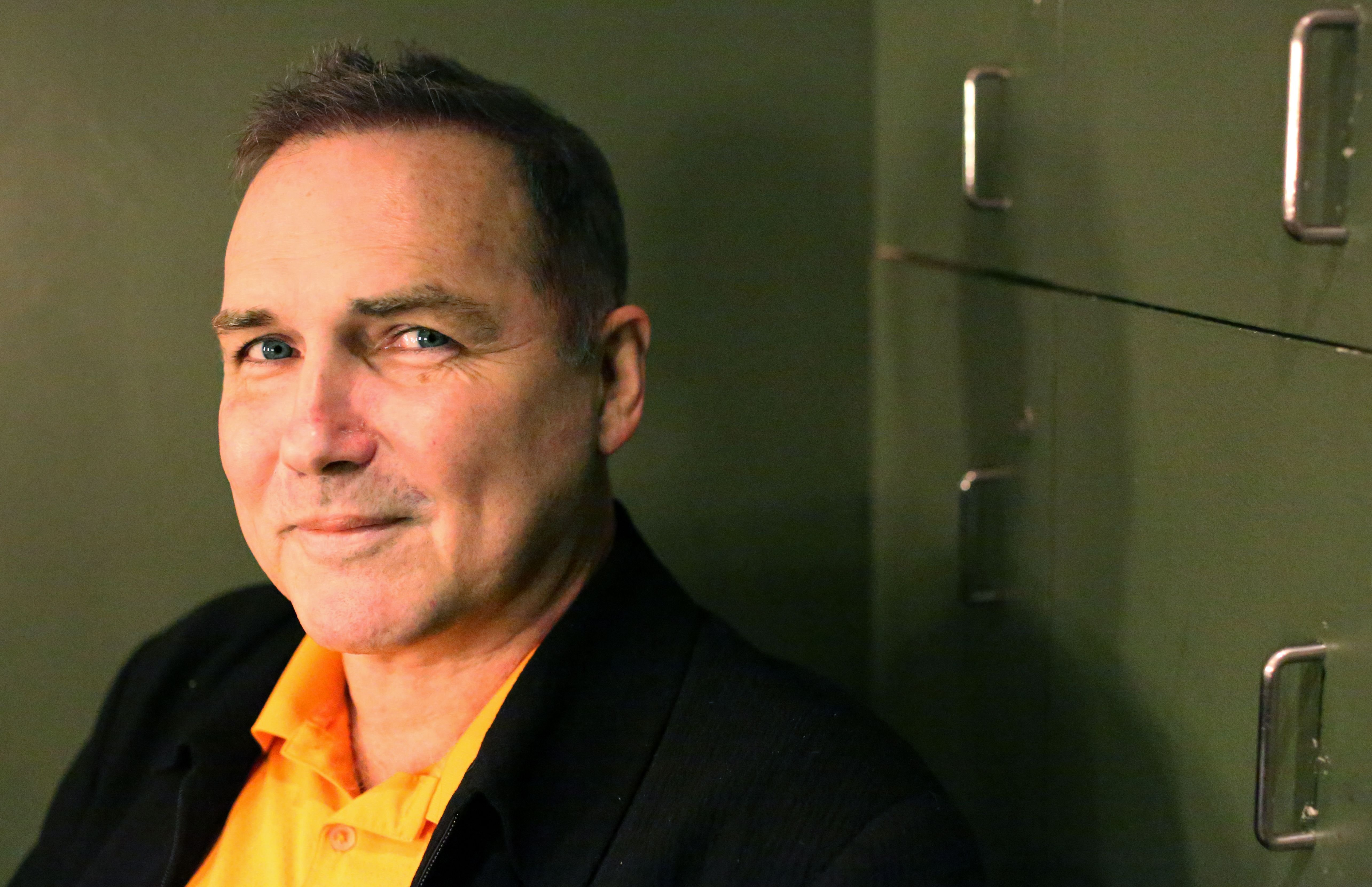 Comedian Norm MacDonald posed for a portrait while preparing to perform at Carolines on November 13, 2015 | Photo: Getty Images