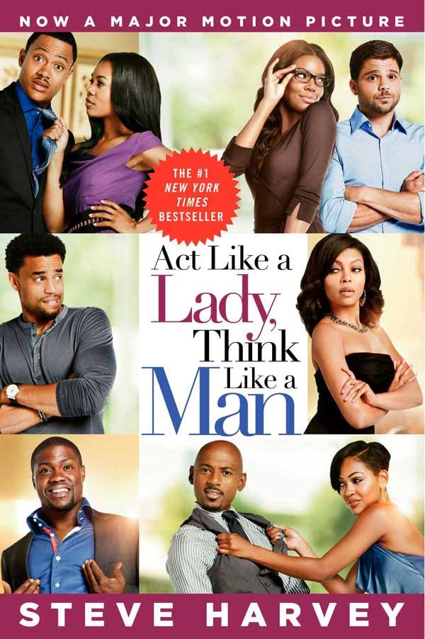 "Cover of the hit book ""Act Like a Lady, Think Like a Man"" 