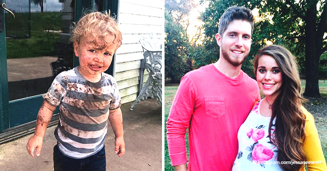 Jessa Duggar Seewald Shares Sweet Pics of Her Little Sons Playing in the Mud