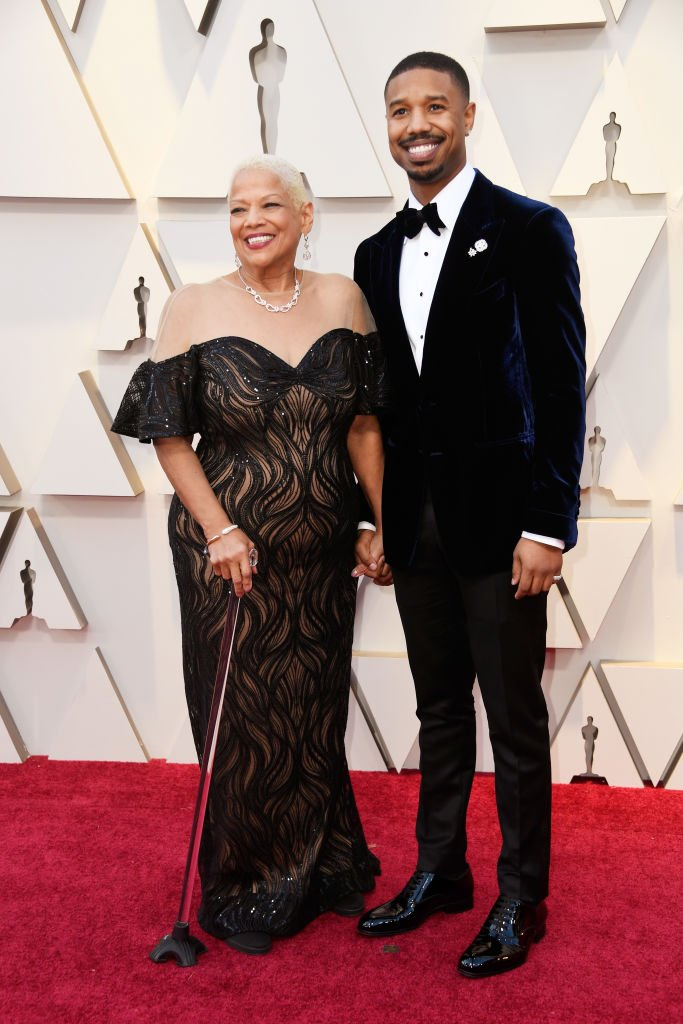 Donna Jordan and Michael B. Jordan attend the 91st Annual Academy Awards at Hollywood and Highland on February 24, 2019 in Hollywood, California. I Photo: Getty Images