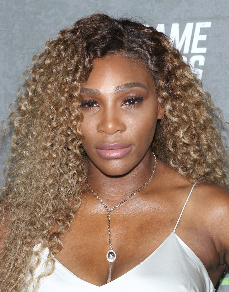 """Tennis player Serena Williams attends the """"The Game Changers"""" New York premiere at Regal Battery Park 11 