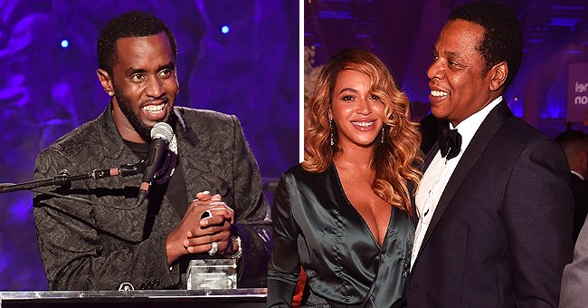 Beyoncé & Jay-Z Give Standing Ovation to Diddy after His Fiery 50-Minute Speech at Clive Davis' Pre-Grammy Gala