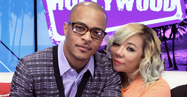 Tiny Sends Father's Day Message to 'All Around Loving Daddy' T.I. and His Reaction Is Epic