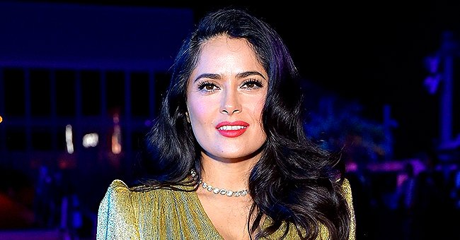 Salma Hayek Pens Tribute to All Important Men in Her Life in Celebration of Father's Day