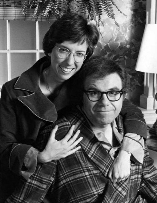 Beverly Archer and Oliver Clark in the television program We've Got Each Other. | Wikimedia Commons