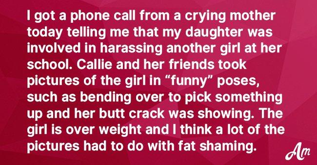Teen Girl Bullies and Shames Overweight Kids