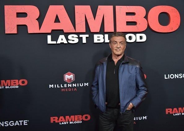 "Sylvester Stallone at the ""Rambo: Last Blood"" Screening & Fan Event on September 18, 2019 in New York City.