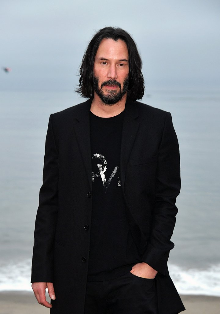 Keanu Reeves attending the Saint Laurent Mens Spring Summer 20 Show Photo Call in Malibu, California, in June 2019. I Image: Getty Images.