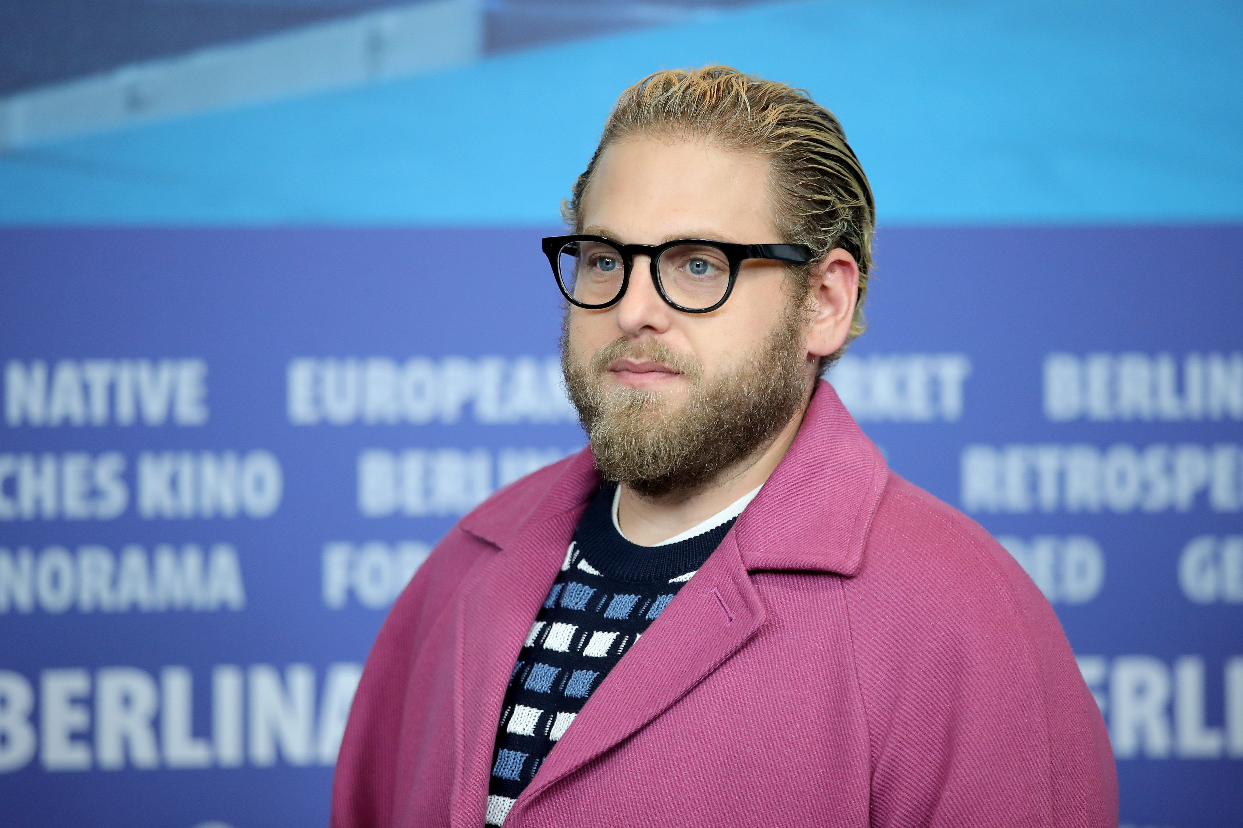 "Jonah Hill at the ""Mid '90s"" press conference during the 69th Berlinale International Film Festival Berlin on February 10, 2019, in Berlin, Germany 